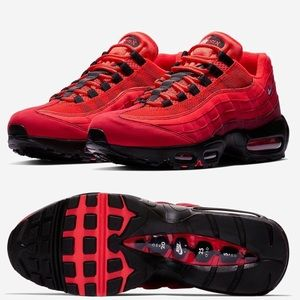 NEW Air Max 95 'Habanero Red'